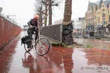 Stad Antwerpen test gladheid fietshelling na resem valpartij... (Berchem) - Gazet van Antwerpen