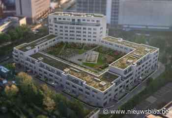 Buurtwerk moet wijken voor appartementscomplex met grote dak... (Berchem) - Het Nieuwsblad