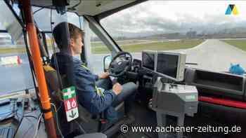 Selbstfahrender Bus wird in Aldenhoven getestet - Aachener Zeitung