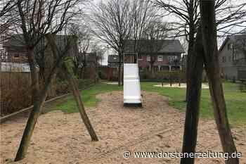 Spielgeräte abgebaut - Anwohner fürchten um Spielplatz am Holzplatz - Dorstener Zeitung