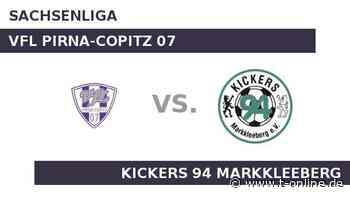 VfL Pirna-Copitz 07 gegen Kickers 94 Markkleeberg: Bei Pirma-Copitz wachsen für Kickers die Bäume in - t-online.de