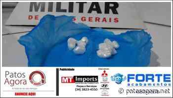 PM de Lagoa Formosa prende dois homens e apreende porções de cocaína - Patos Agora