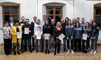 Erste Sportlerehrung in Postbauer-Heng - Mittelbayerische