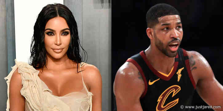 Kim Kardashian Wishes Khloe's Ex Tristan Thompson a Happy Birthday with Their Only Photo Together