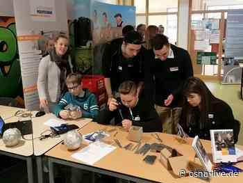"""Berufsorientierungstag """"Betriebe in der Schule"""" an der Geschwister-Scholl-Oberschule Bad Laer - osna.live"""