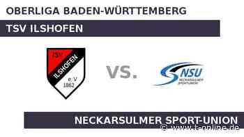 TSV Ilshofen gegen Neckarsulmer Sport-Union: Baut Neckarsulm die Erfolgsserie aus? - t-online.de