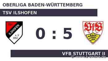 TSV Ilshofen gegen VfB Stuttgart II: Stuttgart am Gipfel - t-online.de