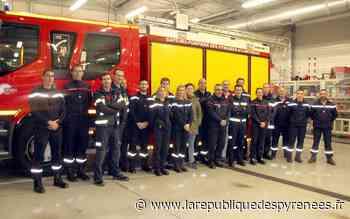 Monein: des pompiers espagnols en visite au centre de secours - La République des Pyrénées