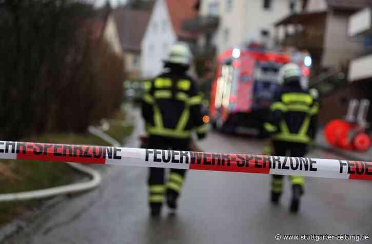 Explosion in Blaubeuren - Mann tot aus Haus geborgen - Stuttgarter Zeitung