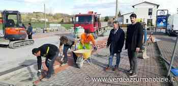 Borgonuovo, in fase di ultimazione lavori di manutenzione in piazza 'Maestri del lavoro' - Verde Azzurro Notizie