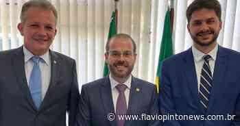Em Brasília, Landim busca providências para Brejo Santo junto ao Ministério do Desenvolvimento Regional - Flavio Pinto