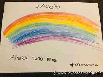 #andràtuttobene, e il disegno della scuola d'infanzia di Mattarello diventa subito virale - la VOCE del TRENTINO