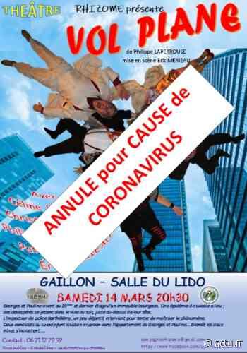 Coronavirus. La liste des événements annulés à Gisors, Gaillon, Les Andelys et dans l'Andelle - actu.fr