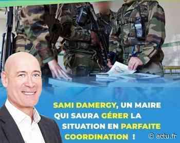 Municipales à Mantes-la-Ville : Samy Damergy bombe le torse - actu.fr