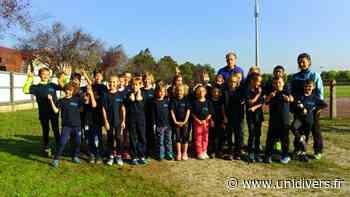 Poussinade d'athlétisme Andernos-les-Bains 16 mai 2020 - Unidivers