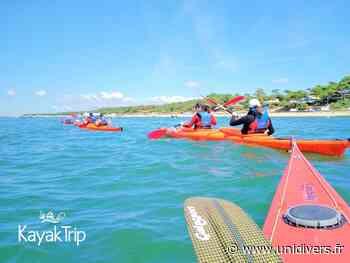 Balade en kayak de mer Andernos-les-Bains 2 juin 2020 - Unidivers