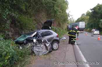 Acidente na RS-446 causa morte de uma mulher em Carlos Barbosa - GaúchaZH