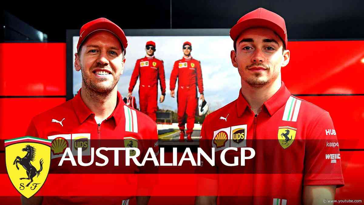 Australian GP - Tifosi, Seb and Charles have a message for you