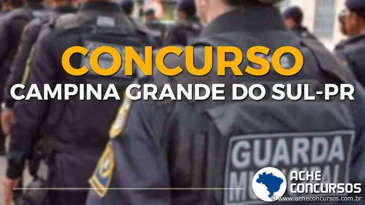 Concurso Prefeitura de Campina Grande do Sul-PR 2020 - Guarda Municipal - Ache Concursos