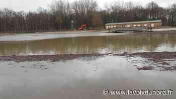 Inondé, le site de l'Emolière à Libercourt fermé au public - La Voix du Nord