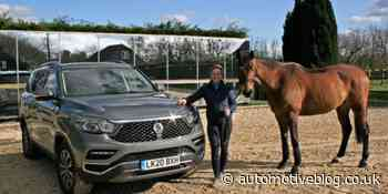 Olympian Pippa Funnell handed keys to new SsangYong Rexton - Automotive Blog