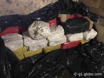 Caminhão com 700 kg de maconha é apreendido em Campina Verde - G1