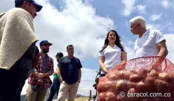 Campesinos colombianos reciben apoyo de empresario canadiense - Caracol Radio