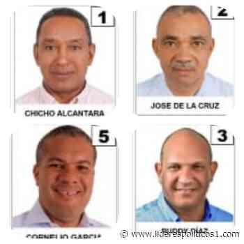VOTA: Sindico por Las Matas de Farfán, por cuál votaría usted? - Lideres Políticos