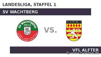 SV Wachtberg gegen VfL Alfter: Auswärtsmacht VfL Alfter - t-online.de