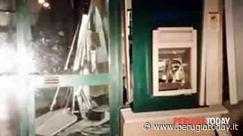 Esplosione nella notte, ladri fanno saltare il bancomat a Ponte Felcino - PerugiaToday