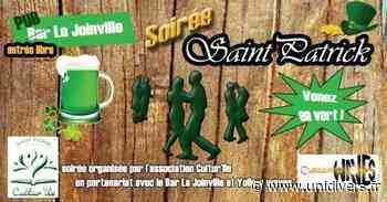 Soirée de la Saint-Patrick Bar du Joinville Saint-Pierre 17 mars 2020 - Unidivers