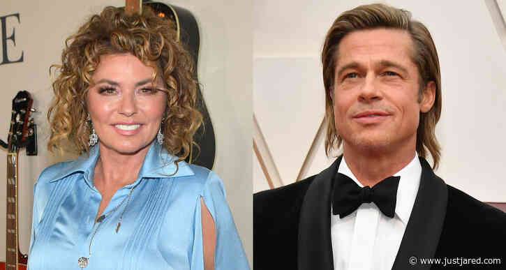 Shania Twain Says Brad Pitt Reall Does Impress Her Despite That Famous Lyric!