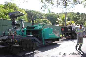 Avenida Daniel Fraga, na Serrinha, começa a ser asfaltada nesta sexta - Camboriú News