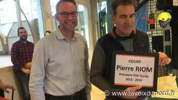 Le court de tennis numéro1 à Arques porte désormais le nom de Pierre Riom - La Voix du Nord