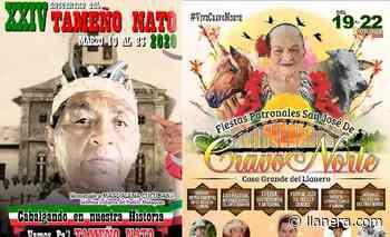 Por coronavirus suspendidas las festividades en Cravo Norte y Tame - Llanera.com