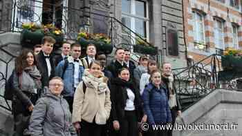 30 élèves passent à Avesnes-sur-Helpe un entretien d'embauche pour s'exercer - La Voix du Nord