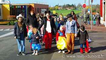 Linselles: les écoliers ont fêté joyeusement le carnaval - La Voix du Nord