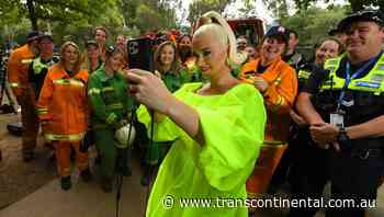 Perry heads to Bright for bushfire show - The Transcontinental