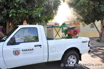 Com caso suspeito de Dengue, Wenceslau Braz inicia nebulização contra o mosquito Aedes Aegypti - Folha Extra