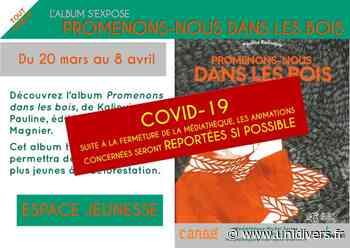 Expo : Promenons-nous dans les bois (reportée) Médiathèque de Cangé Saint-Avertin 20 mars 2020 - Unidivers
