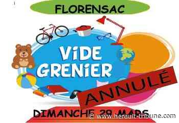 FLORENSAC - Vide-grenier organisé par le Club de foot U.S.O. le dimanche 29 mars 2020 ANNULE - Hérault-Tribune