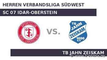 SC 07 Idar-Oberstein gegen TB Jahn Zeiskam: Kann Jahn Zeiskam den Erfolg fortsetzen? - t-online.de
