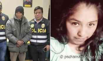 Melgar: Capturan a asesino de adolescente que fue ultimada en Ayaviri - Pachamama radio 850 AM