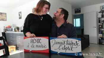 """Insolite - Le mariage """"metal"""" de Marie-Anne et Simon, à Saint-Ay, leur a ouvert les portes des Z'amours pour la Saint-Valentin - La République du Centre"""