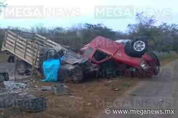 Trágico accidente en la Oxkutzcab-Maní: 2 muertos y 2 heridos - Meganews