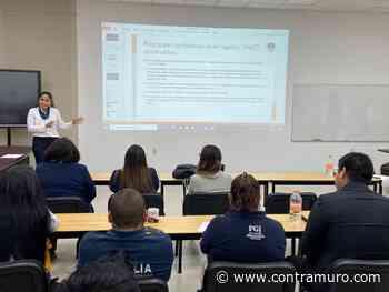 Capacita FGE, a personal de Jiquilpan y Sahuayo en materia de Registro Nacional de Detenciones - Noticias de Michoacán - ContraMuro