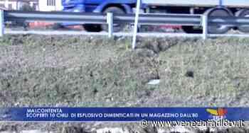 VIDEO: Malcontenta: dieci chili di esplosivo dimenticati in un magazzino - Televenezia - Televenezia