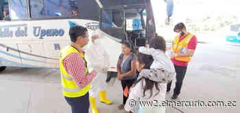 En la ciudad de Macas hubo minga para prevención del coronavirus - El Mercurio (Ecuador)