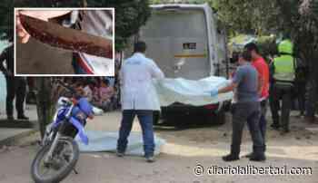 Degollada por su exmarido en zona rural de Talaigua Nuevo, Bolívar - Diario La Libertad