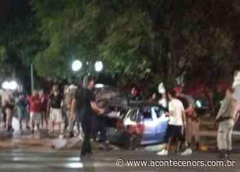 Acidente na Praça Central deixa oito pessoas feridas em Soledade - Acontece no RS